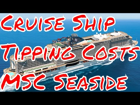 Cruise Ship Tipping Fees Changes MSC Seaside Balcony Cruise Sale Celebrity Constellation Cruise Deal