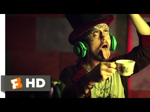 Sinister Squad (2016) - DJ Mad Hatter Scene (5/9)   Movieclips