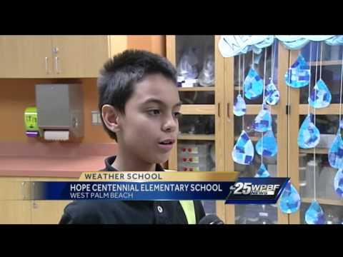 Cris' Weather School: Hope Centennial Elementary School