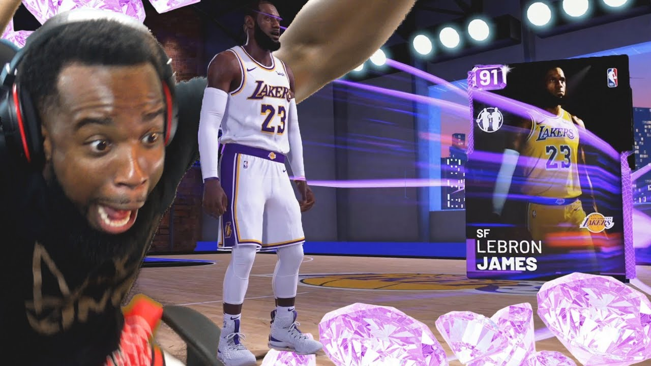 e59654385640 OMG I Pulled LeBron James In My First Pack Opening! NBA 2K19 MyTeam ...