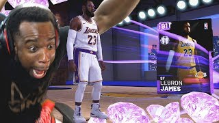 OMG I Pulled LeBron James In My First Pack Opening! NBA 2K19 MyTeam