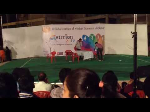 FUNNY SKIT ON COLLEGE LIFE ..(AIIMS JODHPUR)