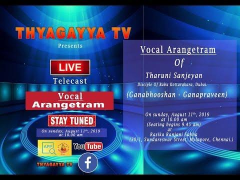 Thyagayya Web Tv | Live | TCT