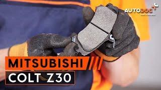 Come sostituire Kit ammortizzatori MITSUBISHI COLT VI (Z3_A, Z2_A) - tutorial