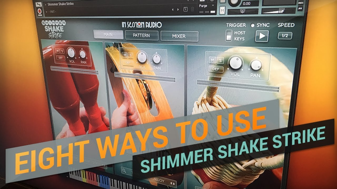 Shimmer Shake Strike - In Session Audio