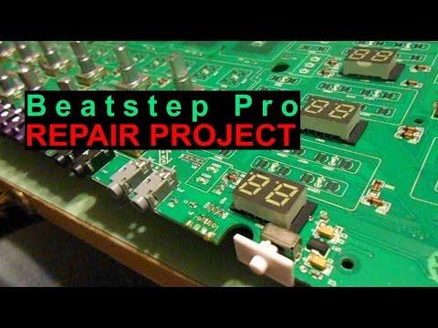 Arturia Beatstep Pro Sequencer Repair Project