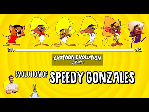 Evolution of SPEEDY GONZALES - 68 Years Explained | CARTOON EVOLUTION