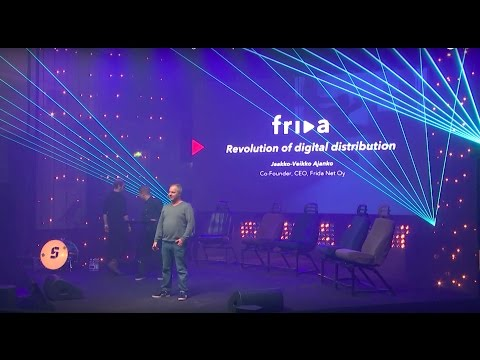 Frida - Revolution of Digital Distribution | Slush Music 2016