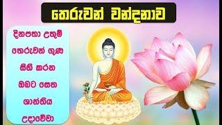 තෙරුවන් නමදිමු - Theruwan Namadimu - Buddha Vandana