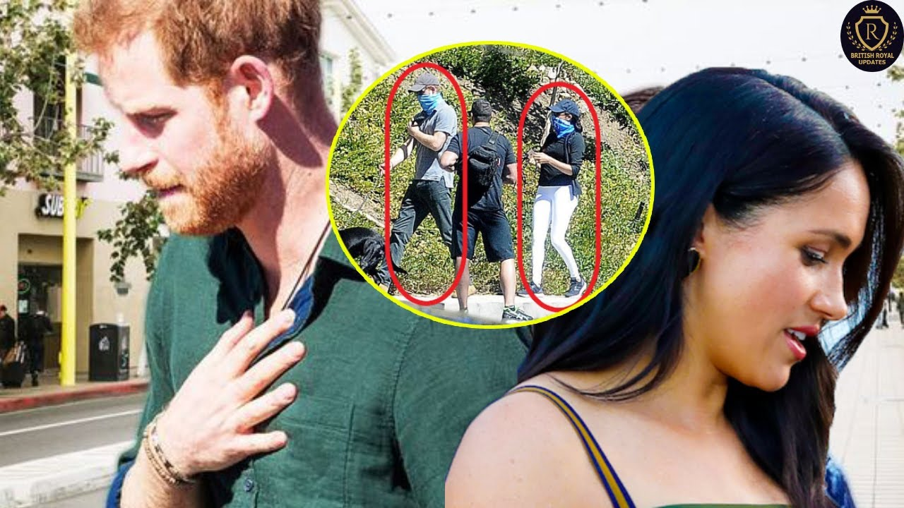 Download Meghan Harry C-aught Giving each others Cold Shoulder outside LA Street amid D-ivorce F-ight Reports