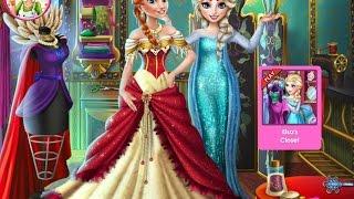 Видео для детей—Эльза дизайнер платья Анны—Онлайн Видео Игры для Девочек Мультфильм 2015