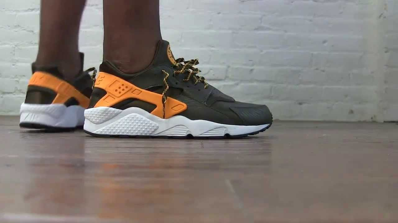 Huarache On Feet