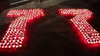 В Твери зажглись Свечи памяти Video