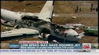 Asiana Airlines'?n kaza simülasyonunu yapt?lar