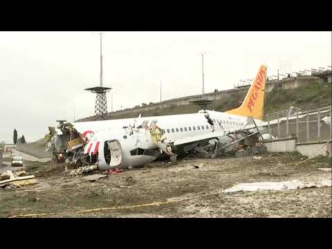 Istanbul's Sabiha Gokcen Airport re-opens after deadly plane crash