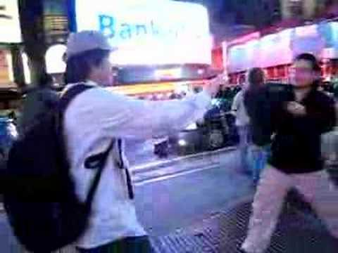Masi Oka Times Square