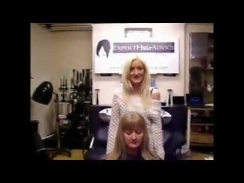 HOW TO - Color Gray Hair at the Roots by Expert-Hair-Advice - YouTube