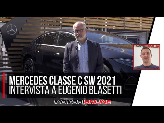 Mercedes Classe C SW 2021 | Intervista a Eugenio Blasetti, responsabile Press Relations MB Italia