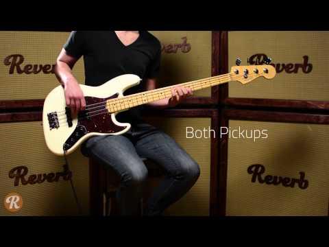 Fender American Standard Jazz Bass Demo | Reverb Demo