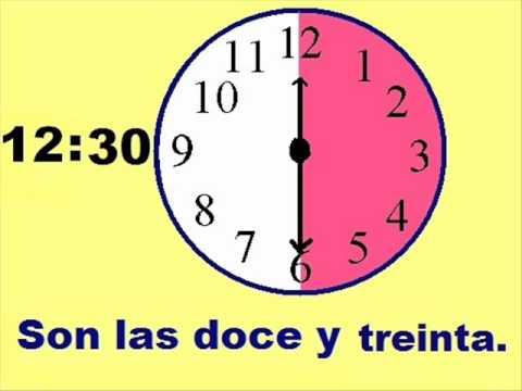 Spanish La Hora - Spanish Time Worksheets, Spanish4Teachers.org