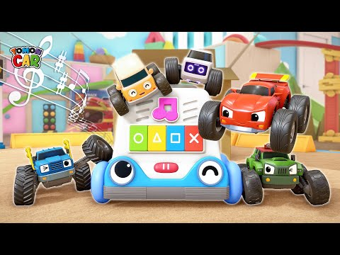 It Is A New Friend Melomon! Find Parts Of Melomonplay | Kids Songs Educational Tomoncar World