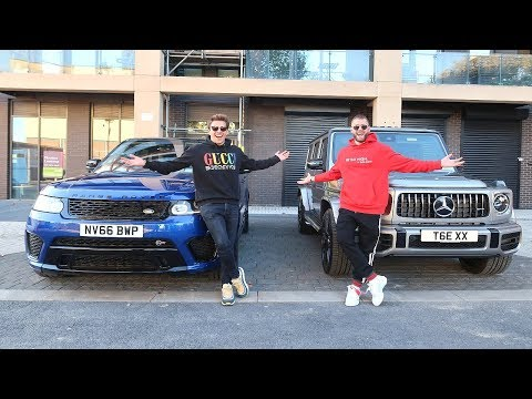 WHO BOUGHT THE BEST SUV? | RANGE ROVER SVR VS G63 AMG!