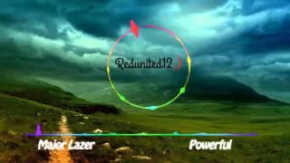 Major Lazer - Powerful (Nightcore)