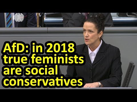 AfD give alternative message on Int'l Women's Day + get rebuke from Katja Suding Bundestag English
