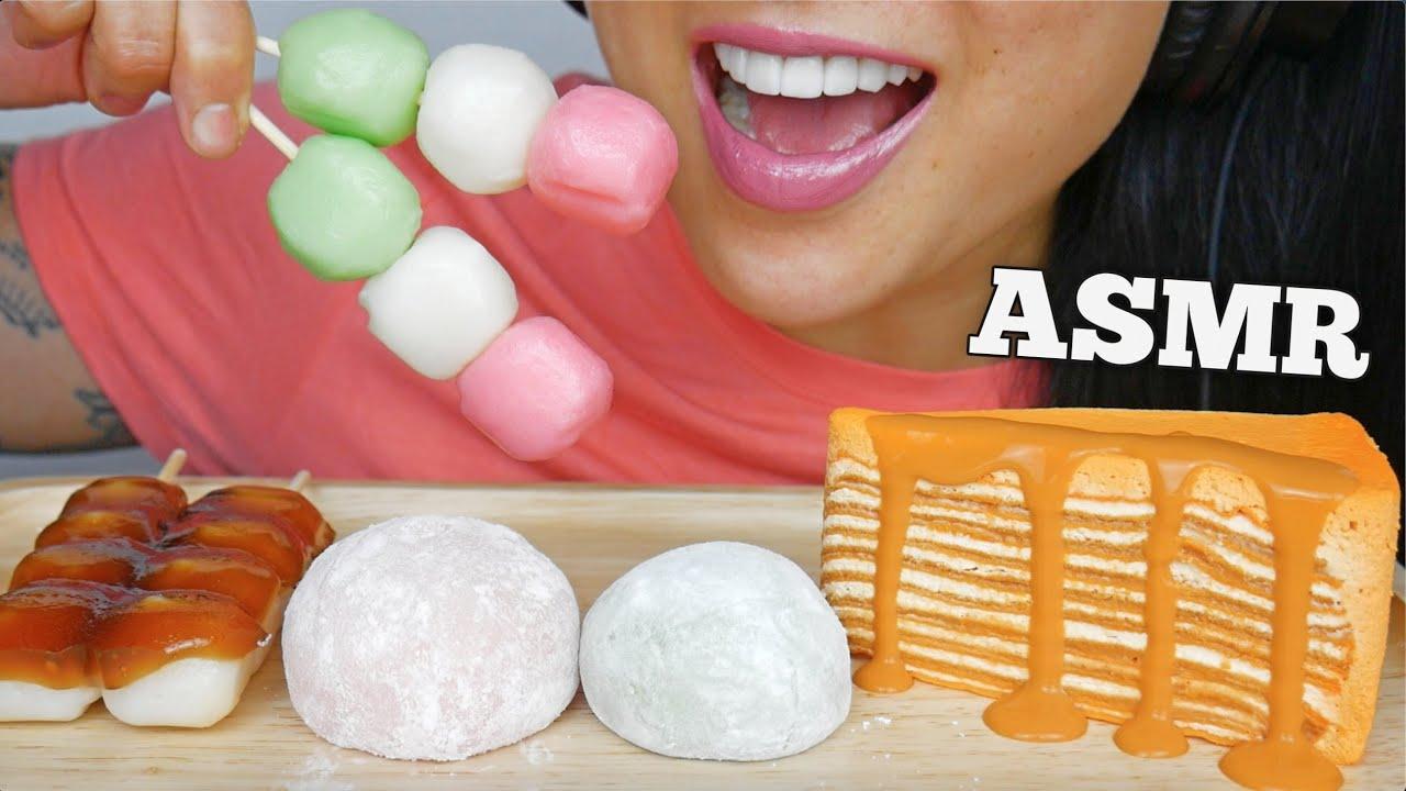Asmr Crepe Cake Mochi Dango Soft Eating Sounds No Talking Sas Asmr Youtube Combine flour, sugar and water. asmr crepe cake mochi dango soft eating sounds no talking sas asmr