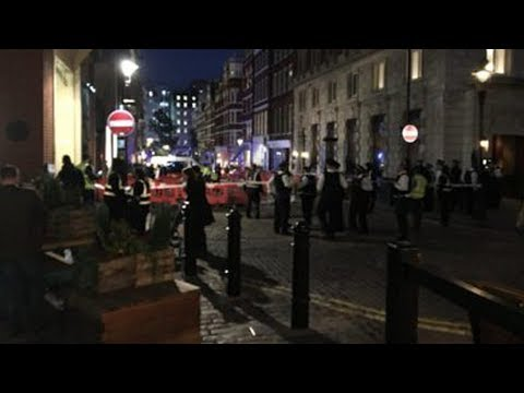 London taxi crash near Covent Garden