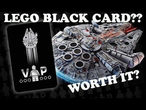 LEGO VIP Black Card, UCS Millennium Falcon, Worth it?? - YouTube