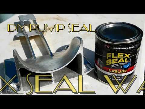 20.00 $ DIY SEA DOO PUMP SEAL KIT with FLEX SEAL !