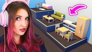 The Sims 4 but Every Room is a Different Height