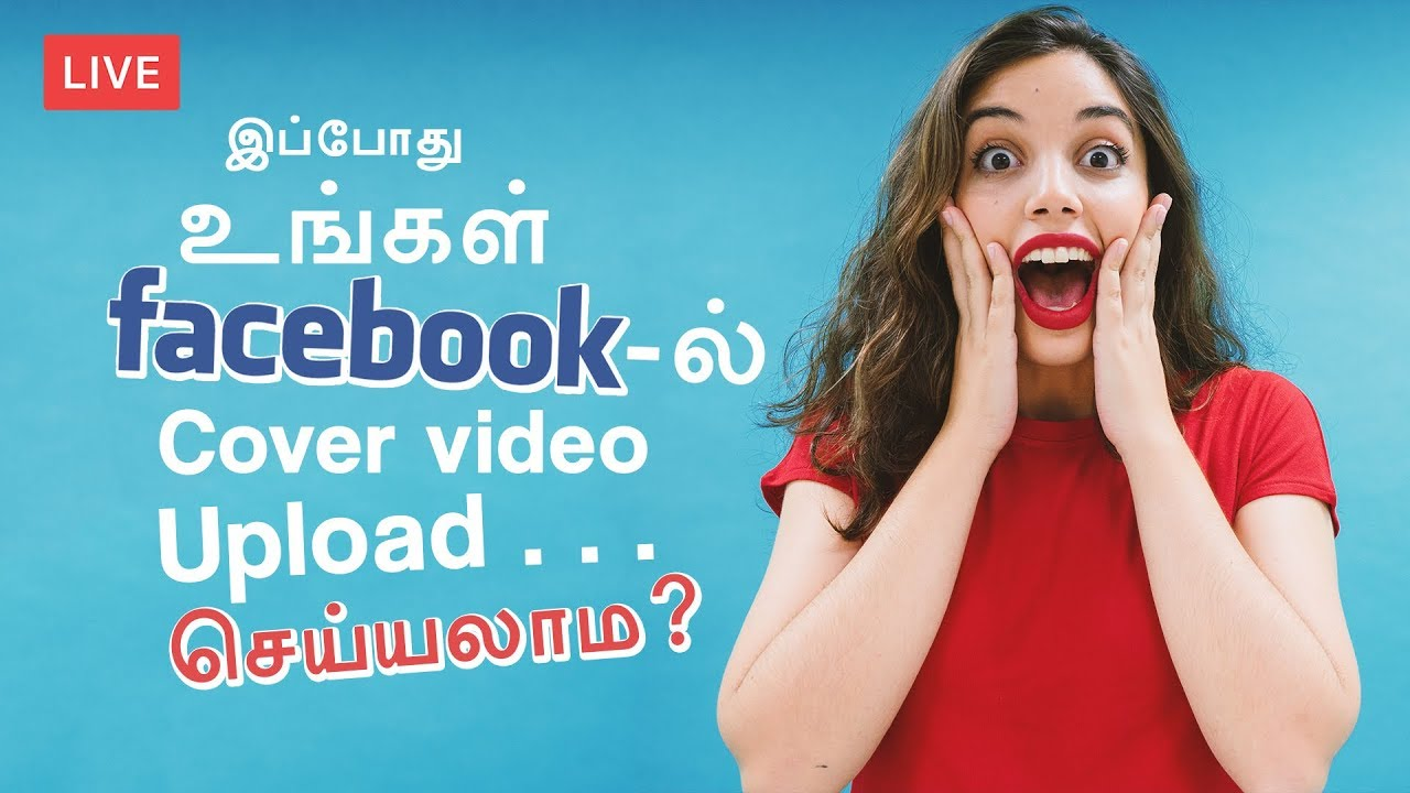 how to create a facebook video cover