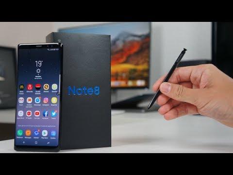 Le Galaxy Note 8 Est Arrivé !