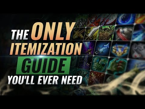 The ONLY Itemization Guide You'll EVER NEED - League of Legends Season 9