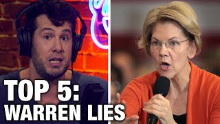 TOP 5: Elizabeth Warren's Campaign Lies! | Louder with Crowder