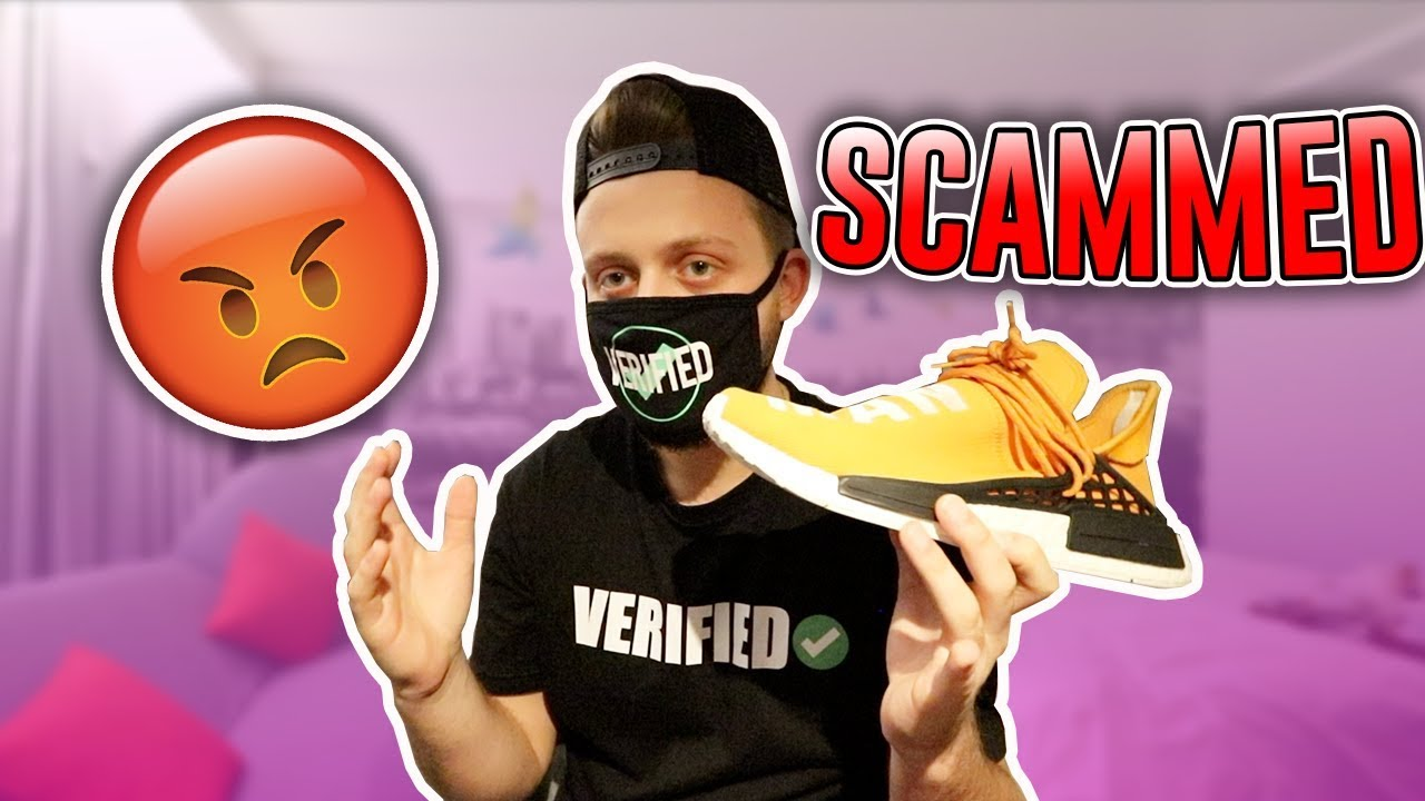 9c8124afc626d Getting Scammed at SneakerCon London!! Yeezy Busta