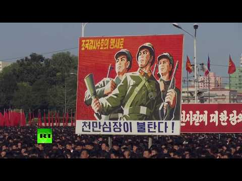 'Huge crime of state terrorism': Massive rally in N. Korea for UN sanctions rejection
