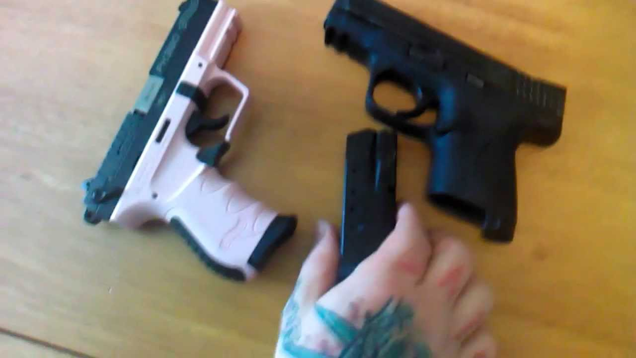 mampp 40c vs walther pk380 size comparisons youtube