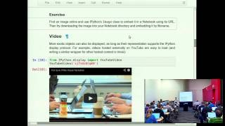 Fernando Perez: IPython in depth: high productivity interactive and parallel python - PyCon 2014