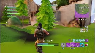 Bug/glitch in Fortnite textures + victory :v