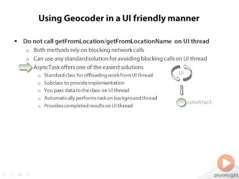 Network Gate Using Geocoder in a UI friendly manner Human-Readable Location Information