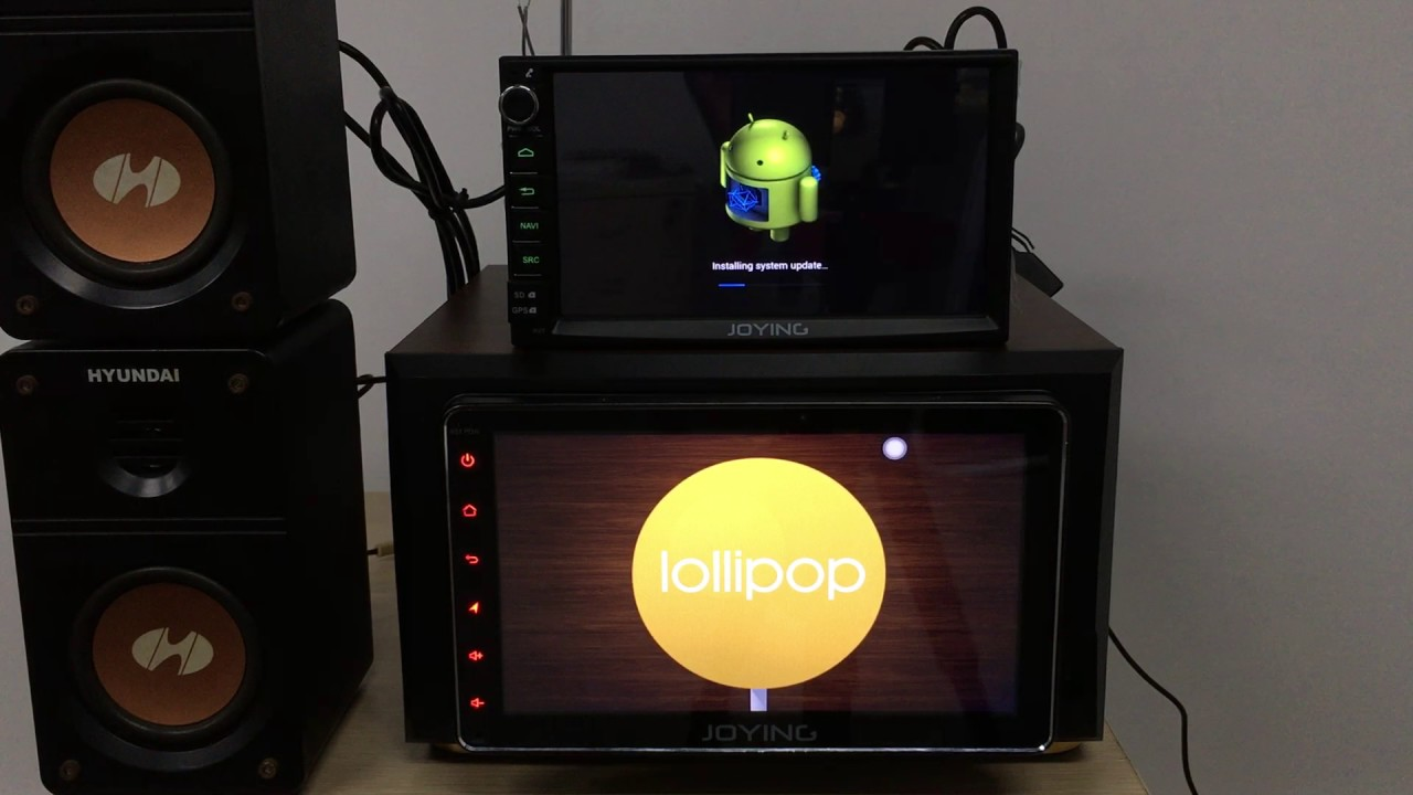 Joying how to upgrade firmware in new developed android car stereo play  head unit