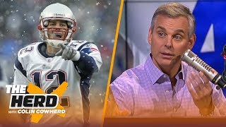Colin Cowherd says the Patriots just got a big break vs Chiefs, talks Jason Garrett | NFL | THE HERD