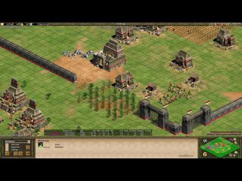 Aoe2 Expert Game: Edie 23+2 Fast Castle on Arena