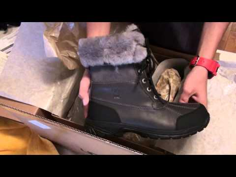 Unboxing Mens Uggs Butte