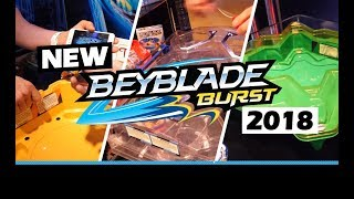 New BeyBlade Burst Evolution Toys - Toy Fair 2018