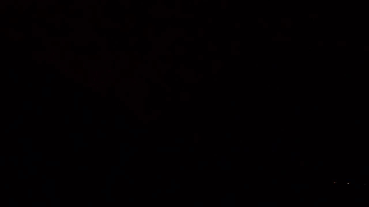 dark pitch black sky