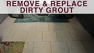 How to Remove and Replace Grout - DIY Network